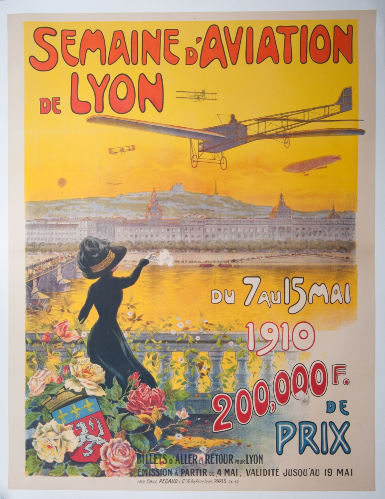 Charles Tichon. Semaine d'aviation de Lyon [2481]